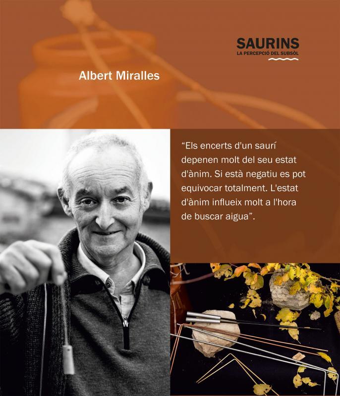 14.04.2018 Exposició Saurins: la percepció del subsòl  Argençola -  Ajuntament d'Argençola