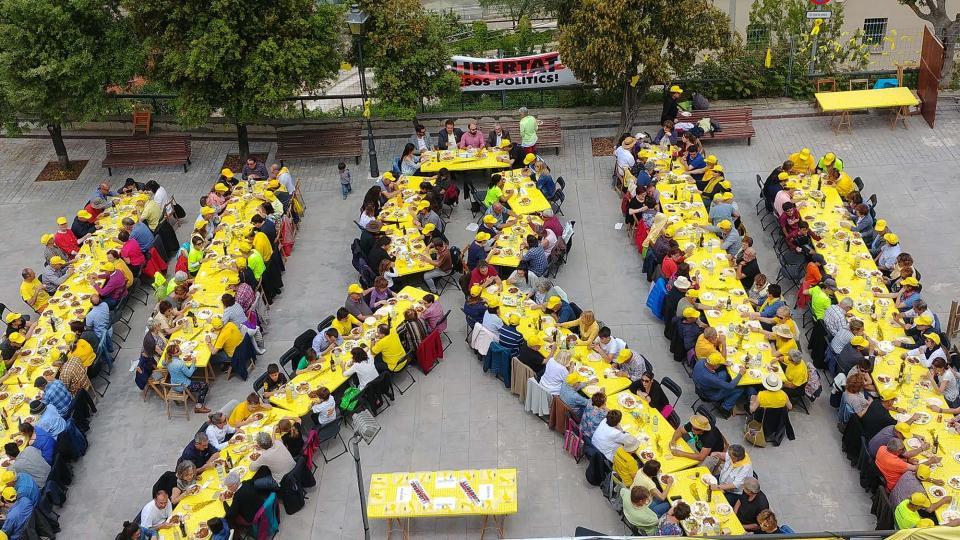 26.05.2018 El dinar solidari ha comptat amb 250 assistents  Argençola -  Martí Garrancho
