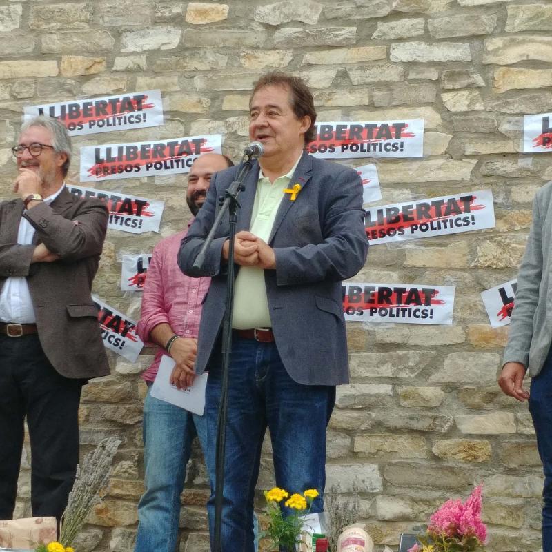 26.05.2018 Àngel Ferré, alcalde de Montmaneu  Argençola -  Martí Garrancho
