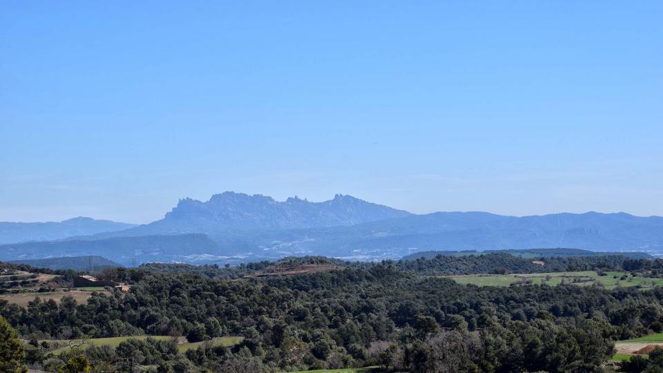 28.03.2018 Vista de Montserrat  Argençola -  Ramon Sunyer