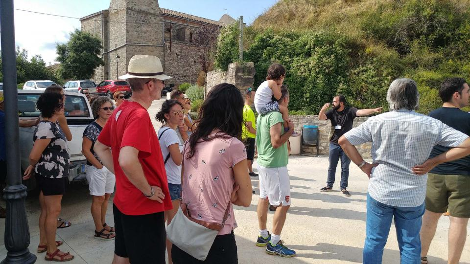 12.08.2018 Visita guiada al Castell d'Argençola amb AnoiaPatrimoni  Argençola -  Marina Berenguer