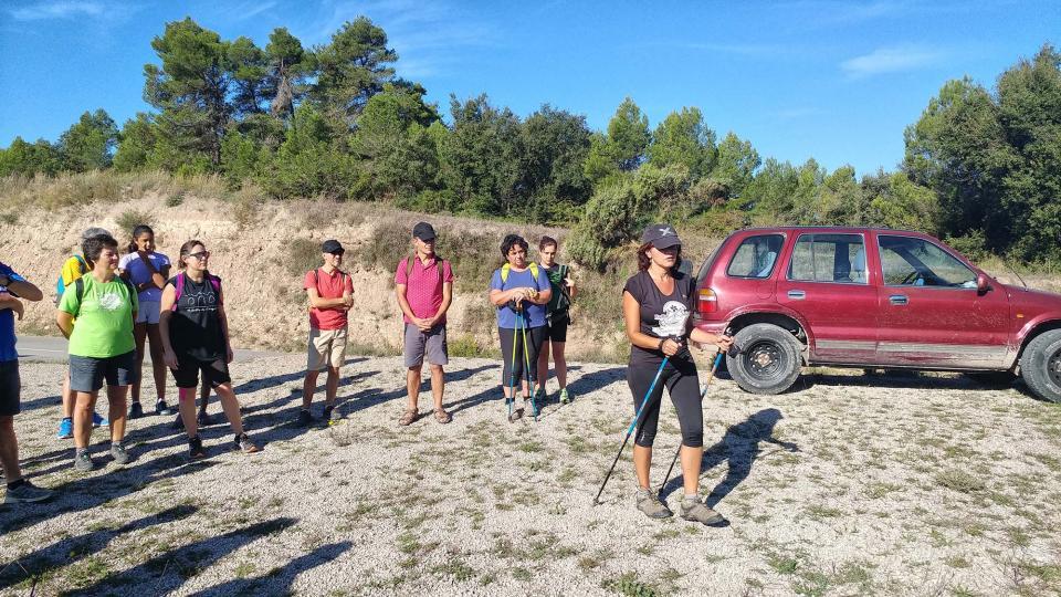 23.09.2018 Iniciació a la marxa nòrdica  Argençola -  Marina Berenguer