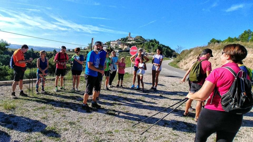 23.09.2018 Iniciació a la marxa nòrdica  Argençola -  Martí Garrancho