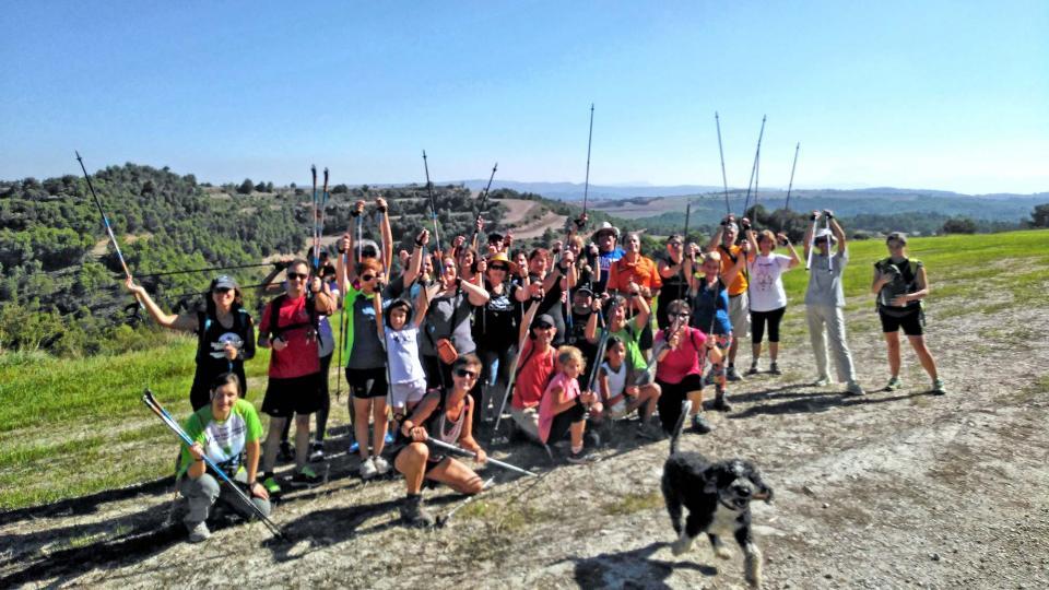 23.09.2018 Iniciació a la marxa nòrdica  Argençola -  Rural Salut