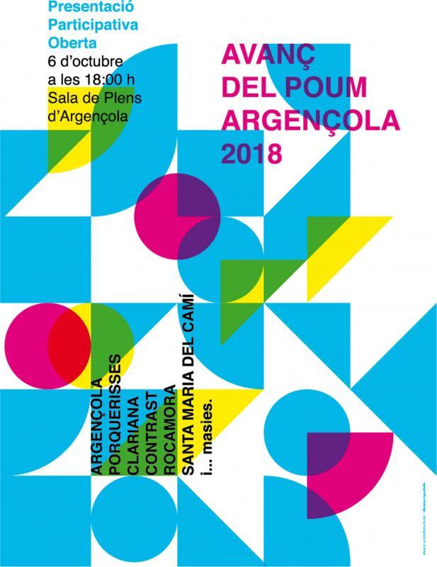 Presentació del document avanç de POUM 2018