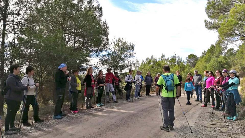 11.11.2018 Curs de Marxa Nòrdica  Argençola -  Rural Salut