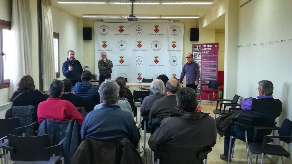 Sessió informativa de l'Ajuntament d'Argençola - Argençola