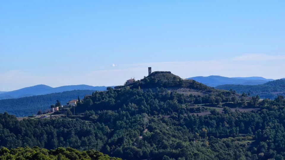 03.11.2018 Vista des de Carbasí  Argençola -  Ramon  Sunyer