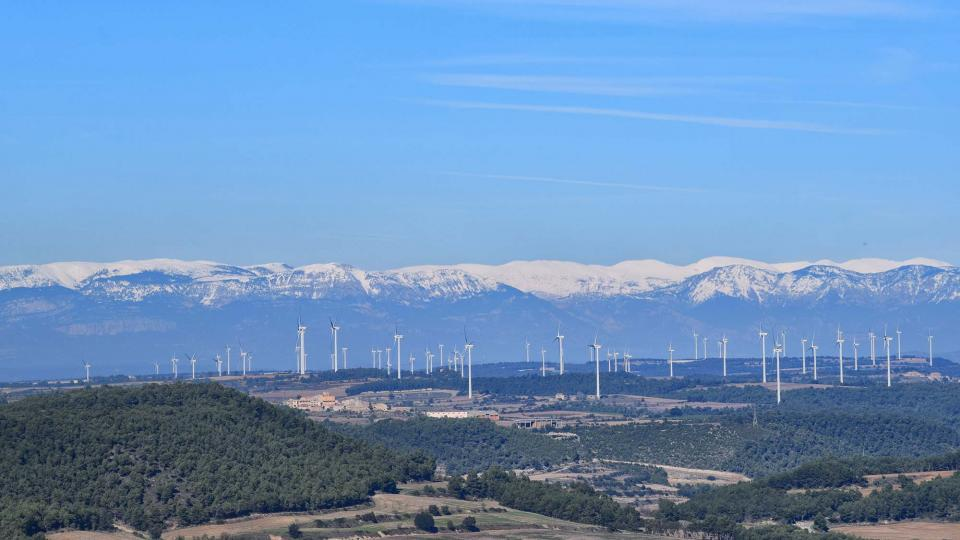 03.11.2018 Vista del Pirineu  Argençola -  Ramon  Sunyer