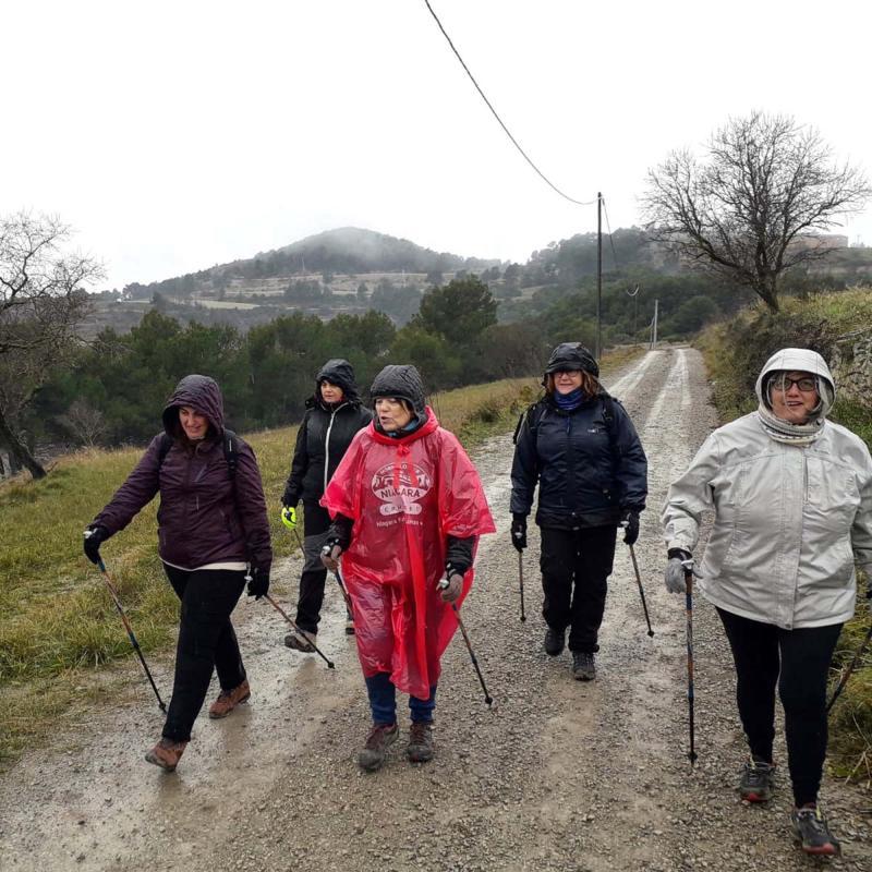 20.01.2019 3a sessió Marxa Nòrdica  Argençola -  Natxo Oñatibia
