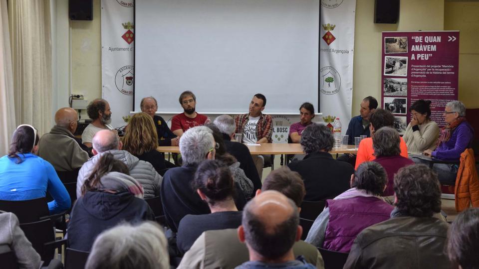 03.03.2019 Jornada tècnica PATT: Llavors ecològiques locals i tradicionals  Argençola -  Ramon Sunyer