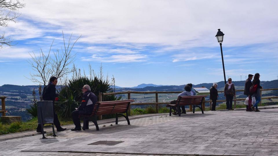 03.03.2019 Contemplant el paisatge  Argençola -  Ramon Sunyer