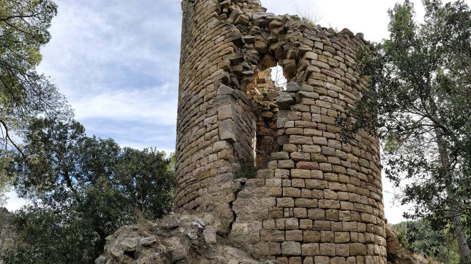 Castell de Clariana - Autor Ramon  Sunyer (2019)