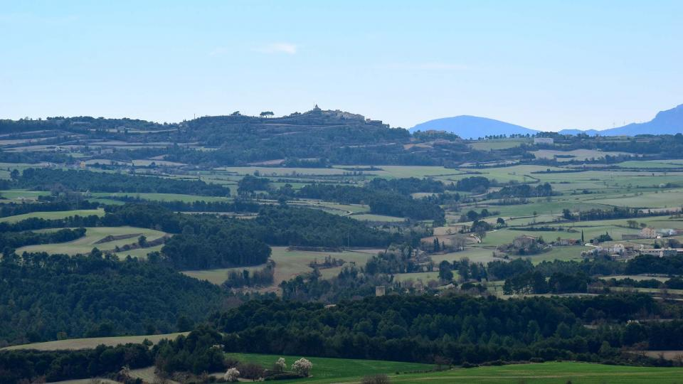 03.03.2019 paisatge des del mirador  Argençola -  Ramon Sunyer