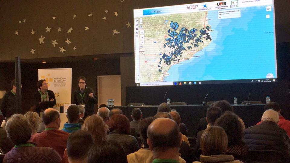 Presentació del projecte Hamlets de la Universitat Autònoma de Barcelona -
