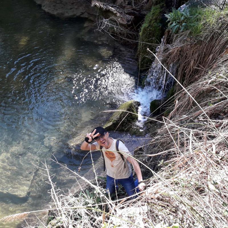 17.03.2019 Saltant del toll del molí nou  Contrast -  Natxo Oñatibia