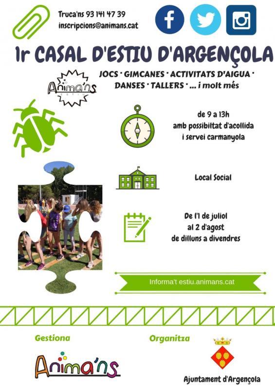 Reunió informativa Casal d'Estiu - Argençola