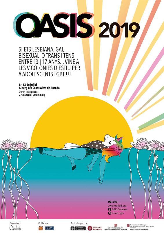 Colònies d'estiu OASIS per a adolescents LGTB -
