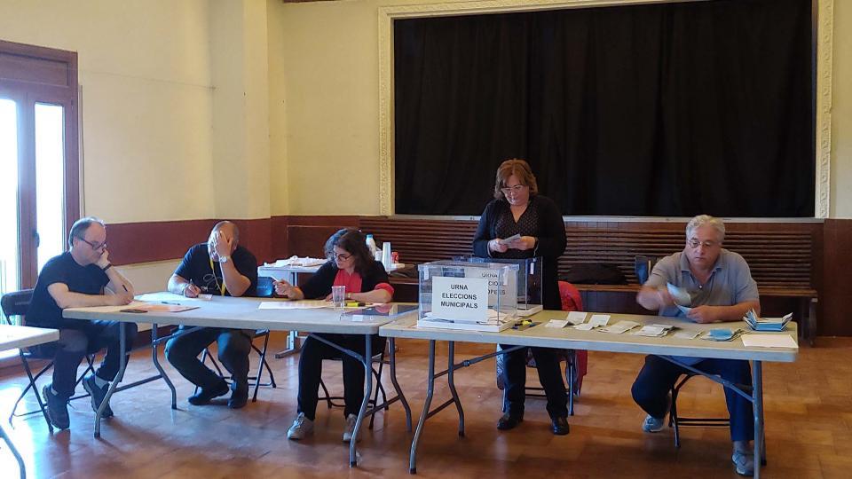 Resultats eleccions municipals i europees 2019 a Argençola - Argençola