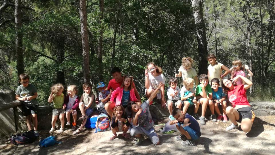 19.07.2019 Excursió al pou de gel  Argençola -  Animans