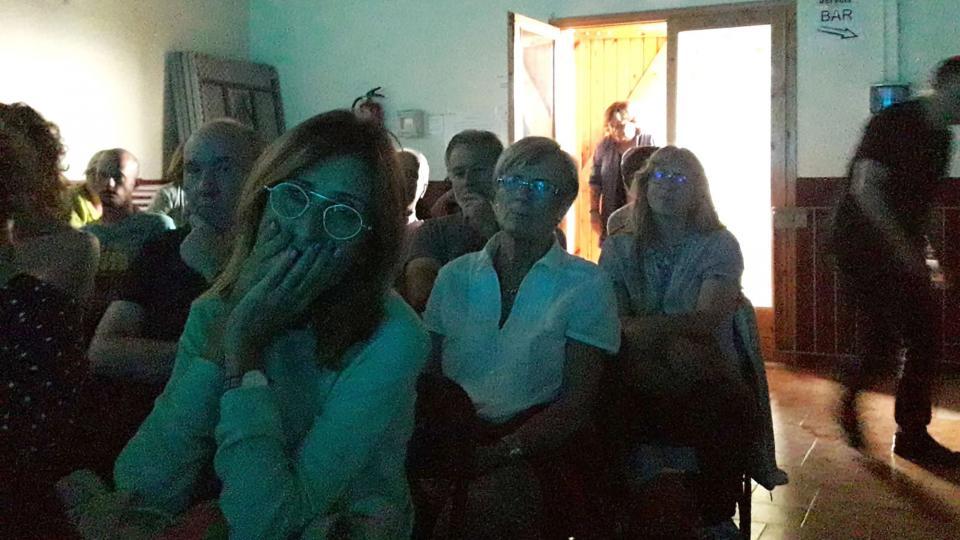 L'espectacle Mort a les cunetes va causar emoció en el públic - Argençola