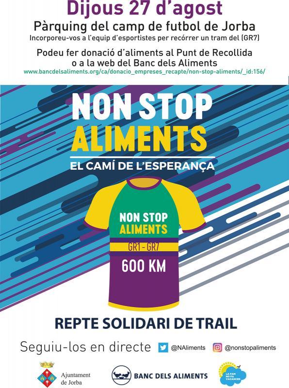 Repte Solidari dels 600Km NON STOP, 'El Camí de l'Esperança' - Argençola
