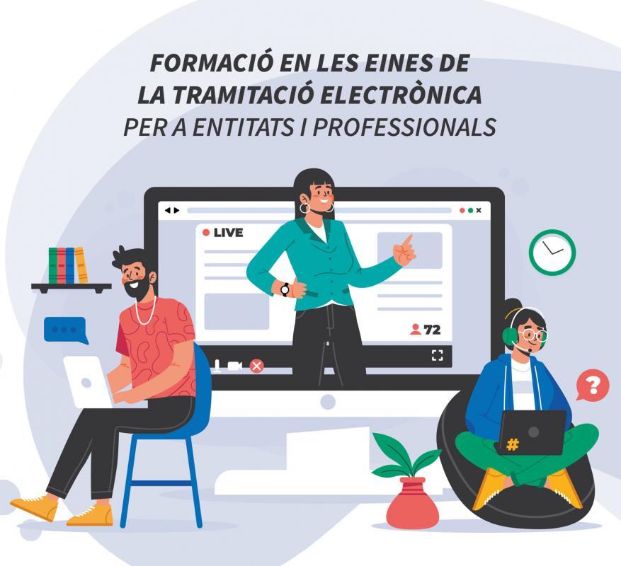 Sessions gratuïtes de formació sobre identificació digital i tramitació electrònica del Consell Comarcal  de l'Anoia -