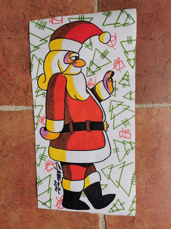 23.12.2020 Taller Pintem el Nadal  Argençola -  Martí Garrancho