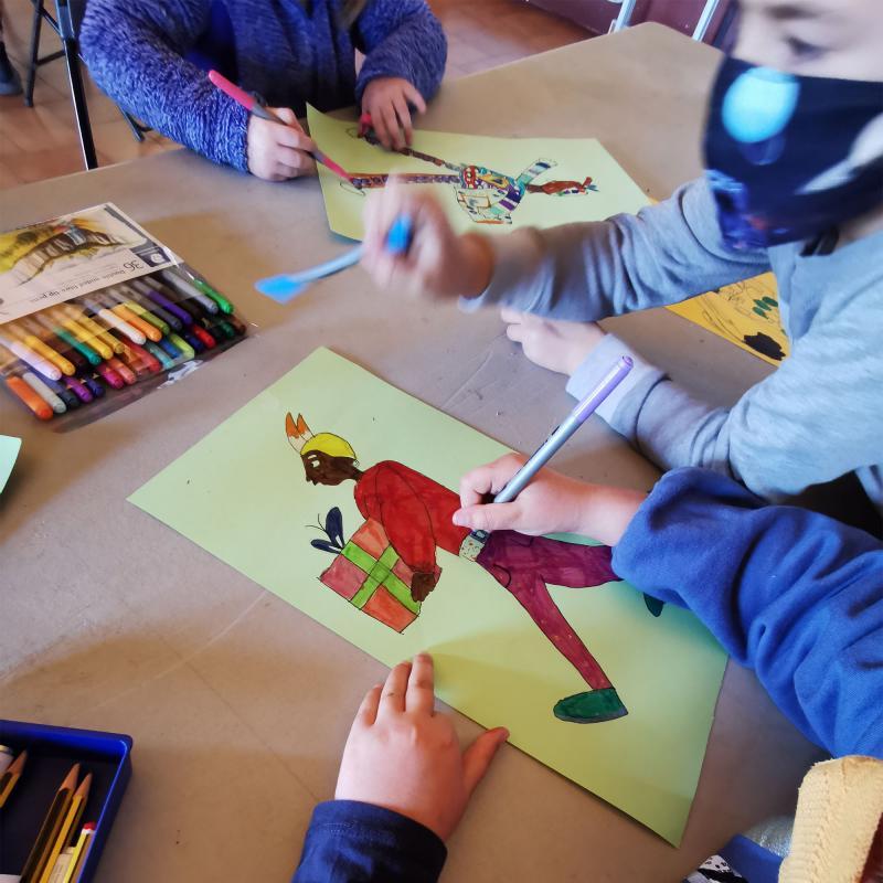 Taller de dibuix infantil - Argençola