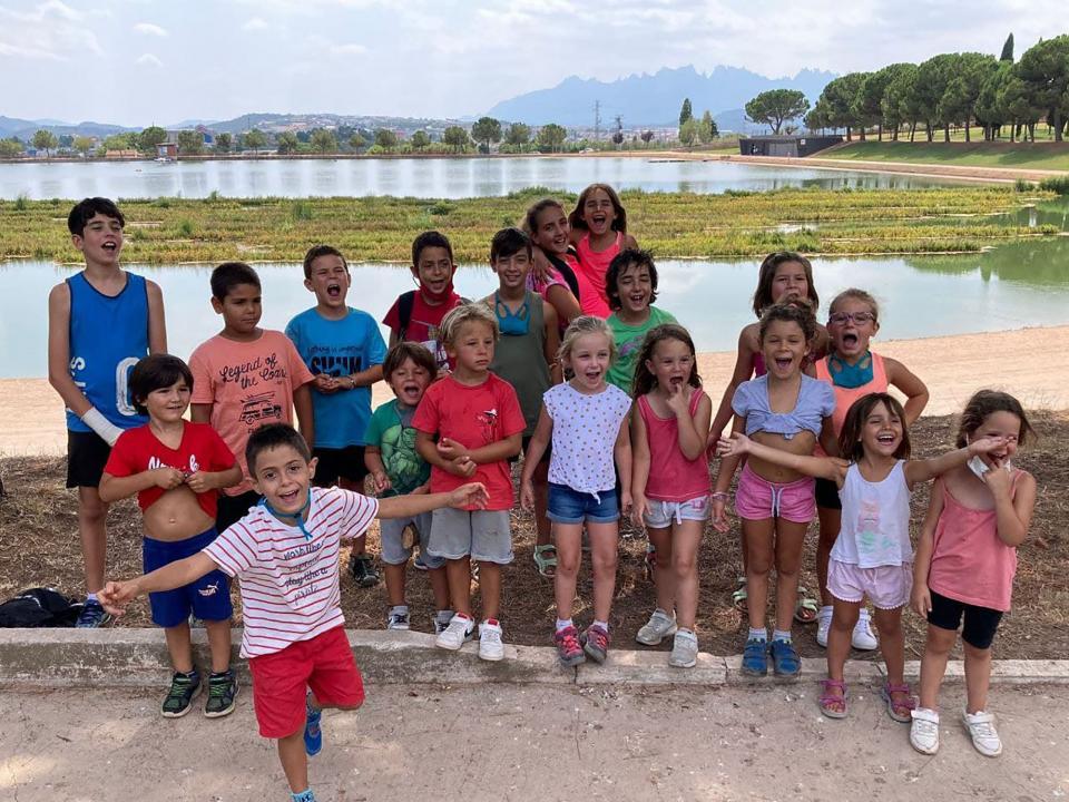 07.08.2021 Excursió al Parc de l'Agulla  Argençola -  Animans