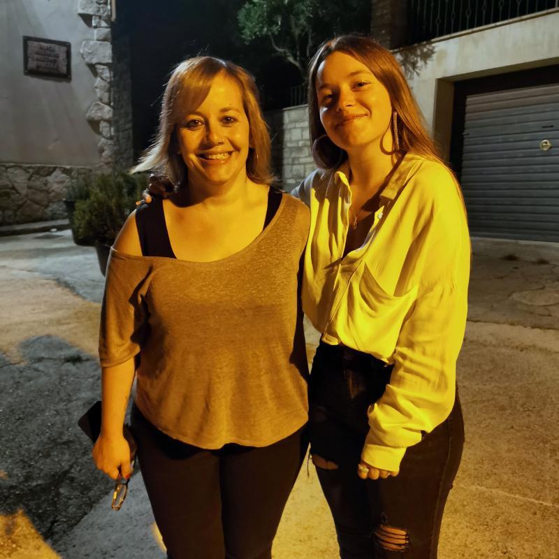20.08.2021 Lourdes Senserrich (Galaxia Management) i Marina Freixas  Argençola -  Martí Garrancho
