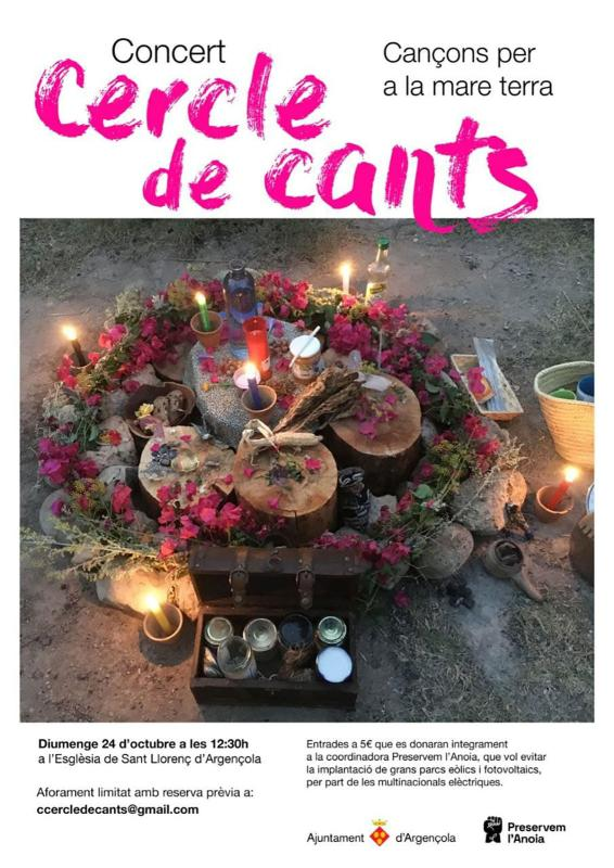 cartell Concert Cercle de Cants