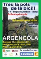 cartell Treu la pols de la bici, pedalada infantil