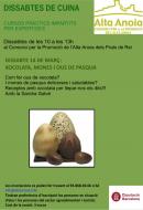 cartell Dissabtes de cuina: Xocolata, mones i ous de Pasqua