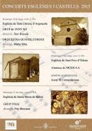 cartell Concerts Esglésies i Castells 2015