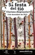 Cartell 5a Festa del Tió de Clariana (Argençola)