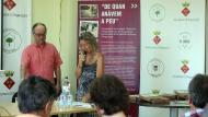 Argençola: Parlament de M Carme Freixa, presidenta de l'Associació de Micropobles de Catalunya  Sílvia Invers
