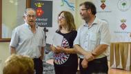 Argençola: Esteve Lluís donant les gràcies als impulsors del projecte  Mariona Miquel Solé
