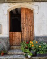 Carbasí: porta  Ramon Sunyer