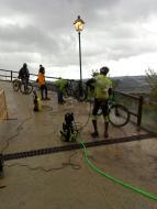 Argençola: Cuidant la bicicleta  Toni Castillo