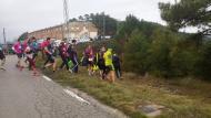 Argençola: Sortida dels participants de Trail  Marina Berenguer