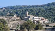 Torre de Contrast, adossada a la masia de cal Cortès