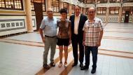 Reunió amb Juanjo Puigcorbé, diputat de Cultura de la Diputació de Barcelona