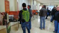 Argençola: Exposició Saurins: la percepció del subsòl  Martí Garrancho