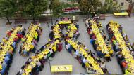 El dinar solidari ha comptat amb 250 assistents