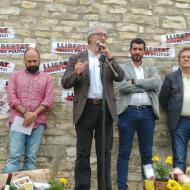 Argençola: Ton Lloret, alcalde d'Argençola  Martí Garrancho