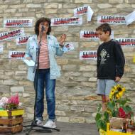 Argençola: La Imma Martínez en el sorteig de les paneres  Martí Garrancho