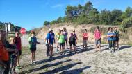 Argençola: Iniciació a la marxa nòrdica  Marina Berenguer