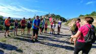 Argençola: Iniciació a la marxa nòrdica  Martí Garrancho