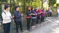 Argençola: Curs de Marxa Nòrdica  Rural Salut